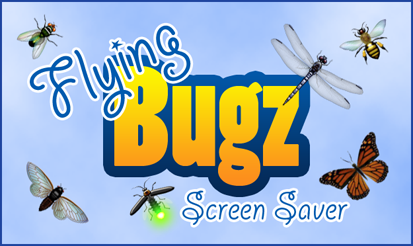 Flying Bugz Screen Saver